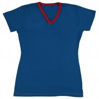 Женственная футболка из 100% хлопка. Комфортная и практичная