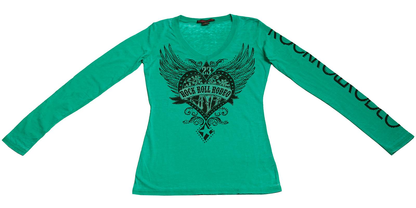 Женственная кофточка Rock&Roll CowGirl - приталенная модель оригинального цвета