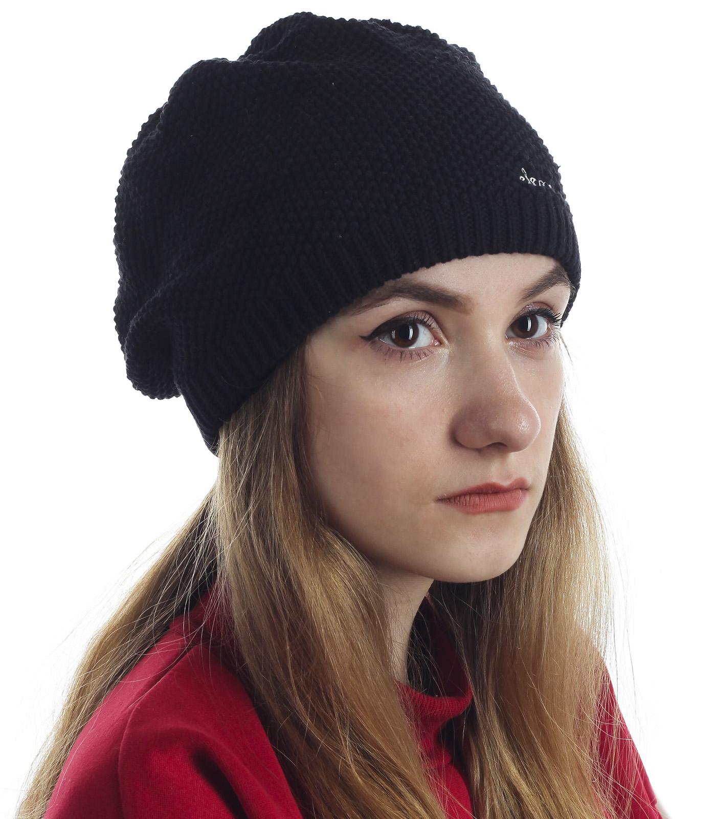 Женственная шапочка Element. Удачная модель для любого типа лица. Всегда актуальный дизайн и надежная защита от холода и ветра