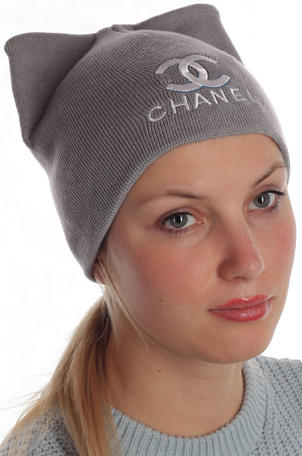 Женственная уютная шапка Chanel элегантного варианта восхитительным красоткам