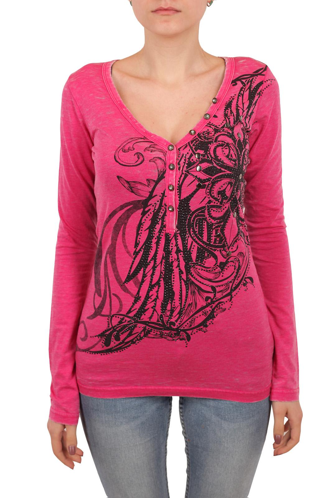 Недорогая женская кофточка розового цвета