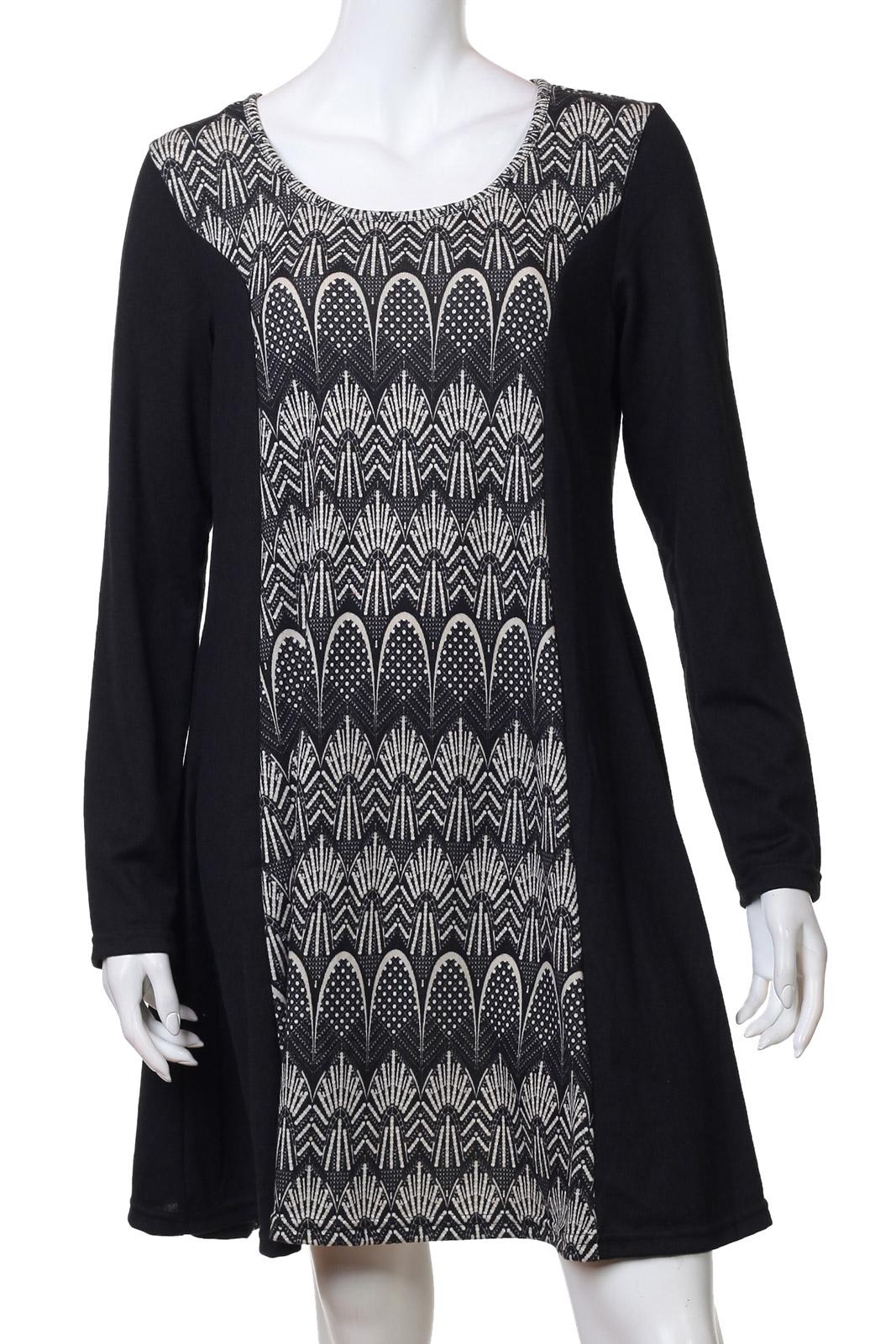 Женственное миди-платье с оттеняющим принтом