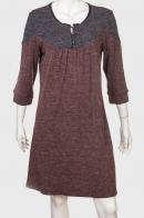 Женственное платье с коротким рукавом