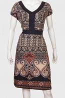 Женственное платье с коротким рукавом от LordKitsch