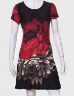 Женственное платье с красивым принтом от ZB