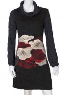 Женственное платье с нежными цветами