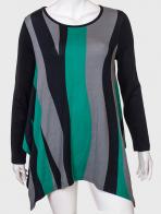 Женственное привлекательное платье-туника от LOBO