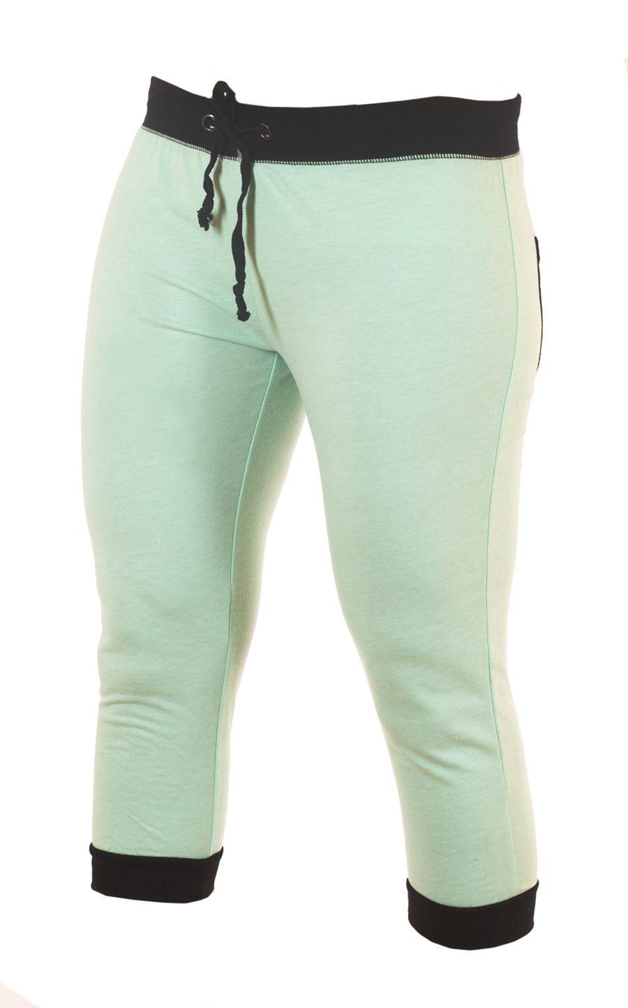 Женственные спортивные брюки капри Coco Limon