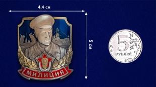 """Заказать жетон декоративный """"Милиция"""""""
