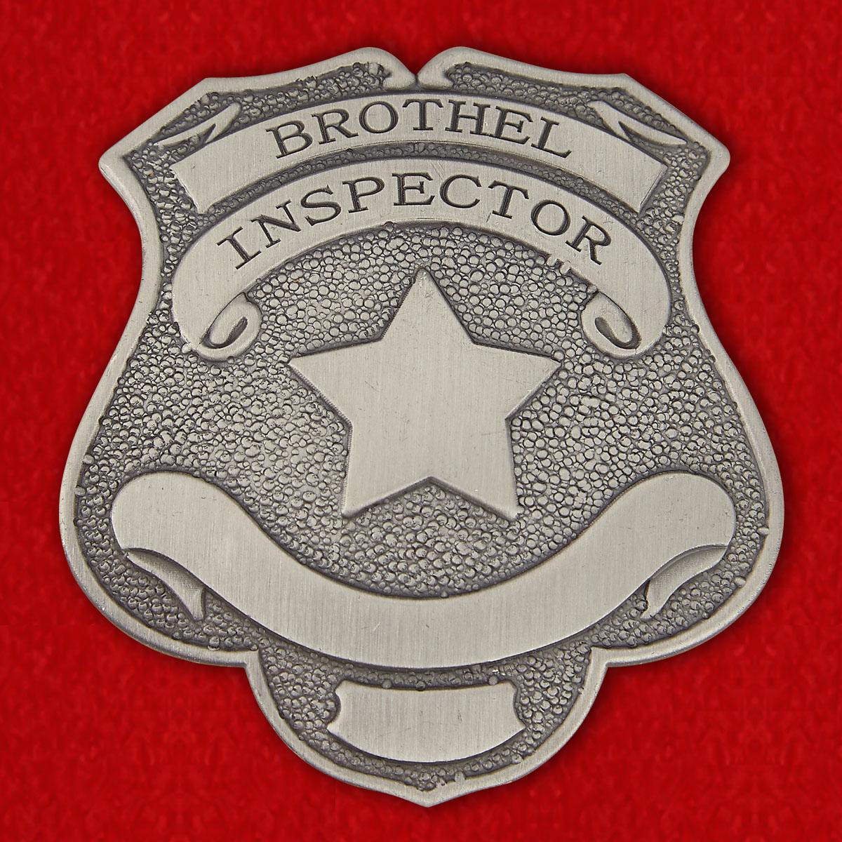 Жетон инспектора притонов разврата