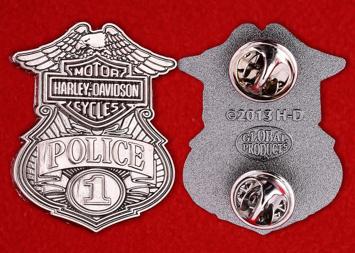 "Жетон полиции США ""Харлей Дэвидсон"""