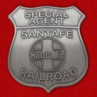 Жетон специального агента на железных дорогах Санта-Фе