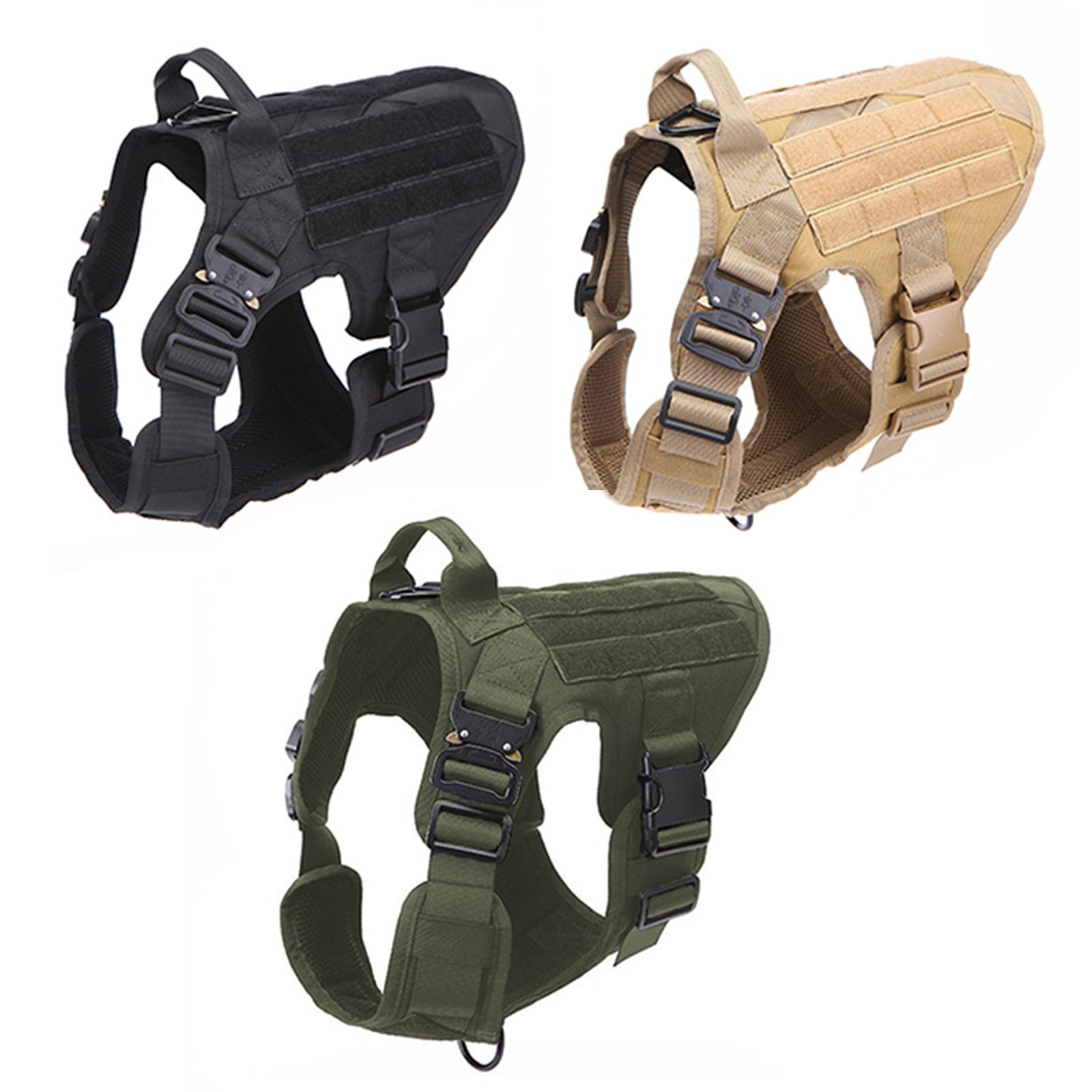 Жилет для дрессировки служебных и охотничих собак Icefang Army Style Cobra (хаки-олива)