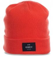 Жизнерадостная шапка Obey. Эксклюзивно для холодного времени года!