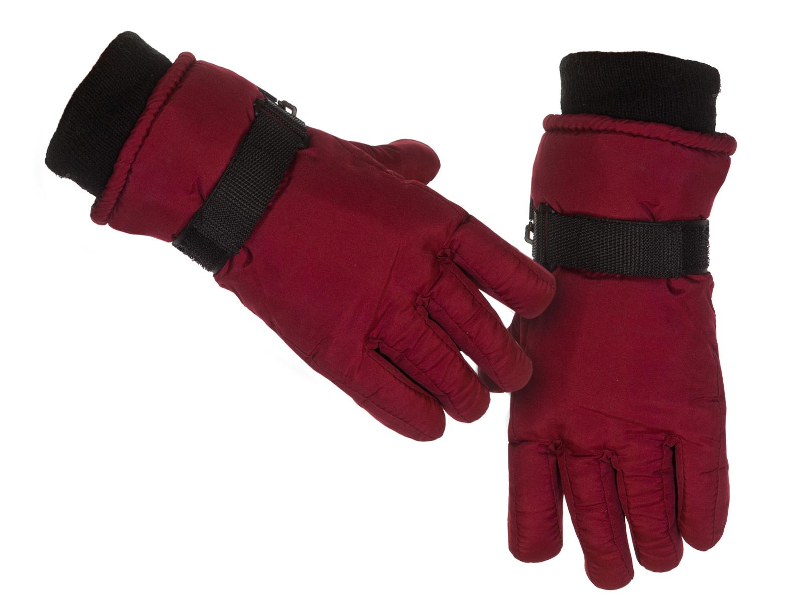Зимние бордовые перчатки Thinsulate™ по лучшей цене