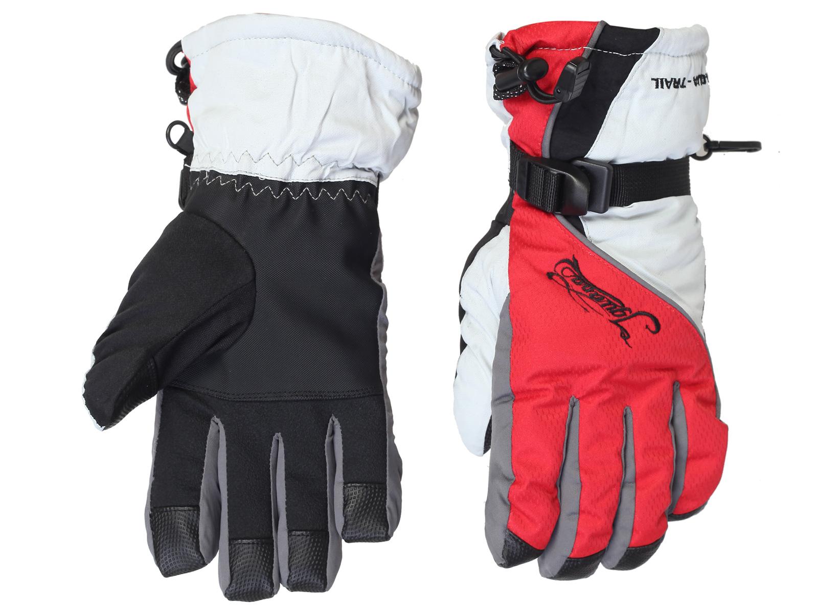 Перчатки на зиму – яркая унисекс модель