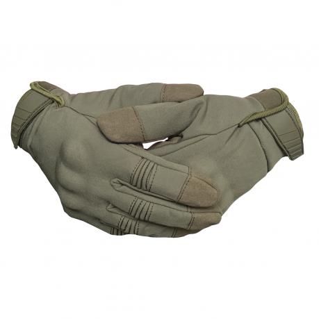 Зимние тактические перчатки хаки