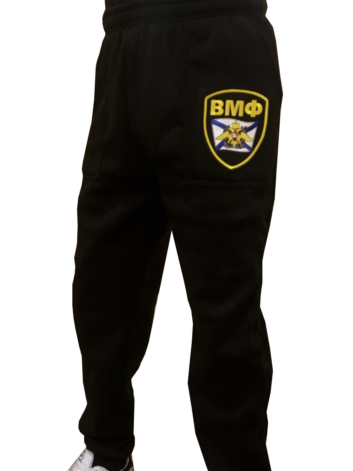 Зимние утепленные спортивные штаны ВМФ