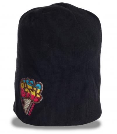 Зимняя брендовая мужская шапка бини Billabong утепленная флисом современная модель