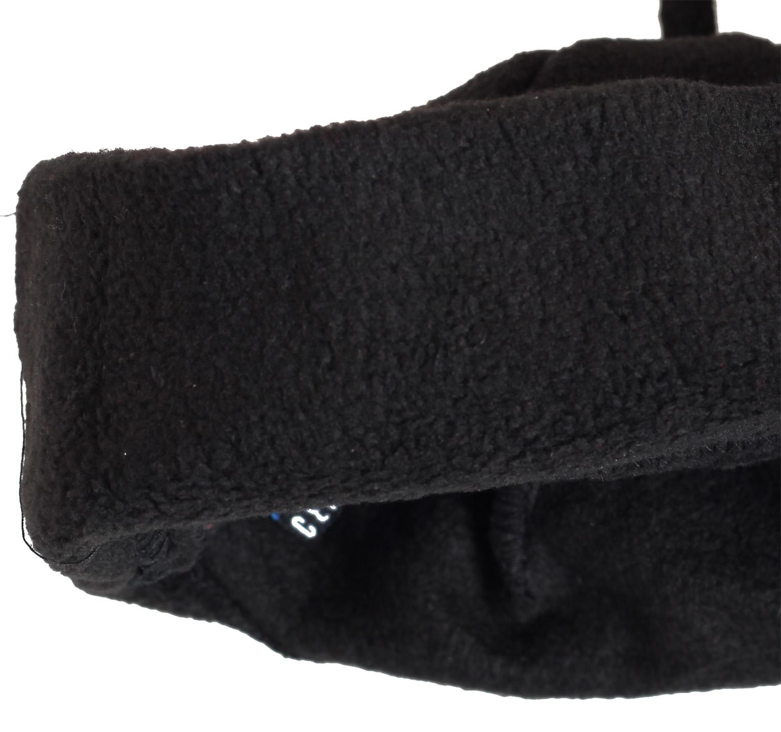 Купить зимнюю флисовую мужскую шапку с задорной кисточкой утепленную флисом по лучшей цене