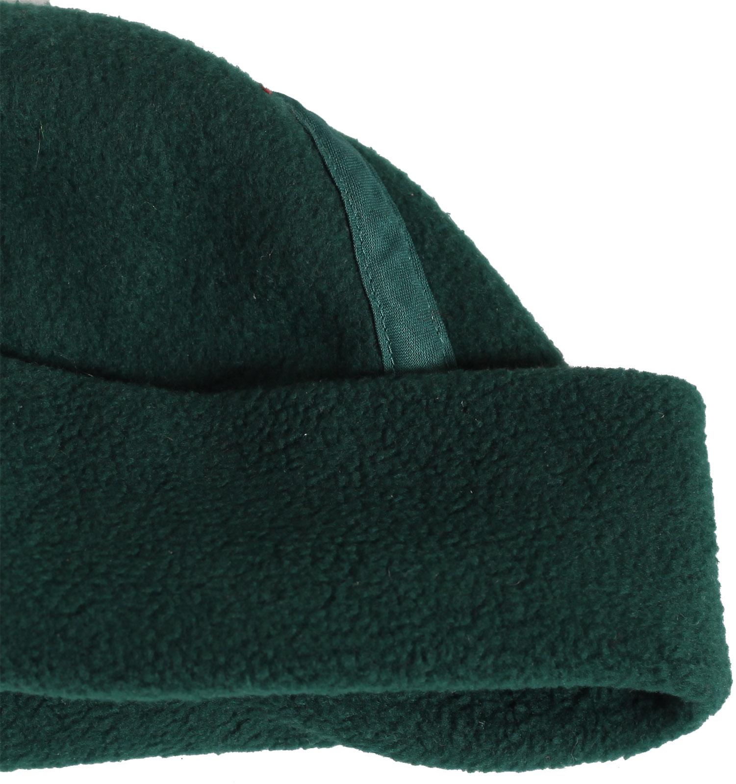 Купить зимнюю флисовую мужскую шапку Travis Perkins с отворотом по лучшей цене