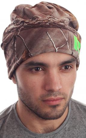 Зимняя шапка из флиса для стильных мужчин