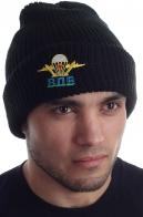 Зимняя шапка с эмблемой ВДВ