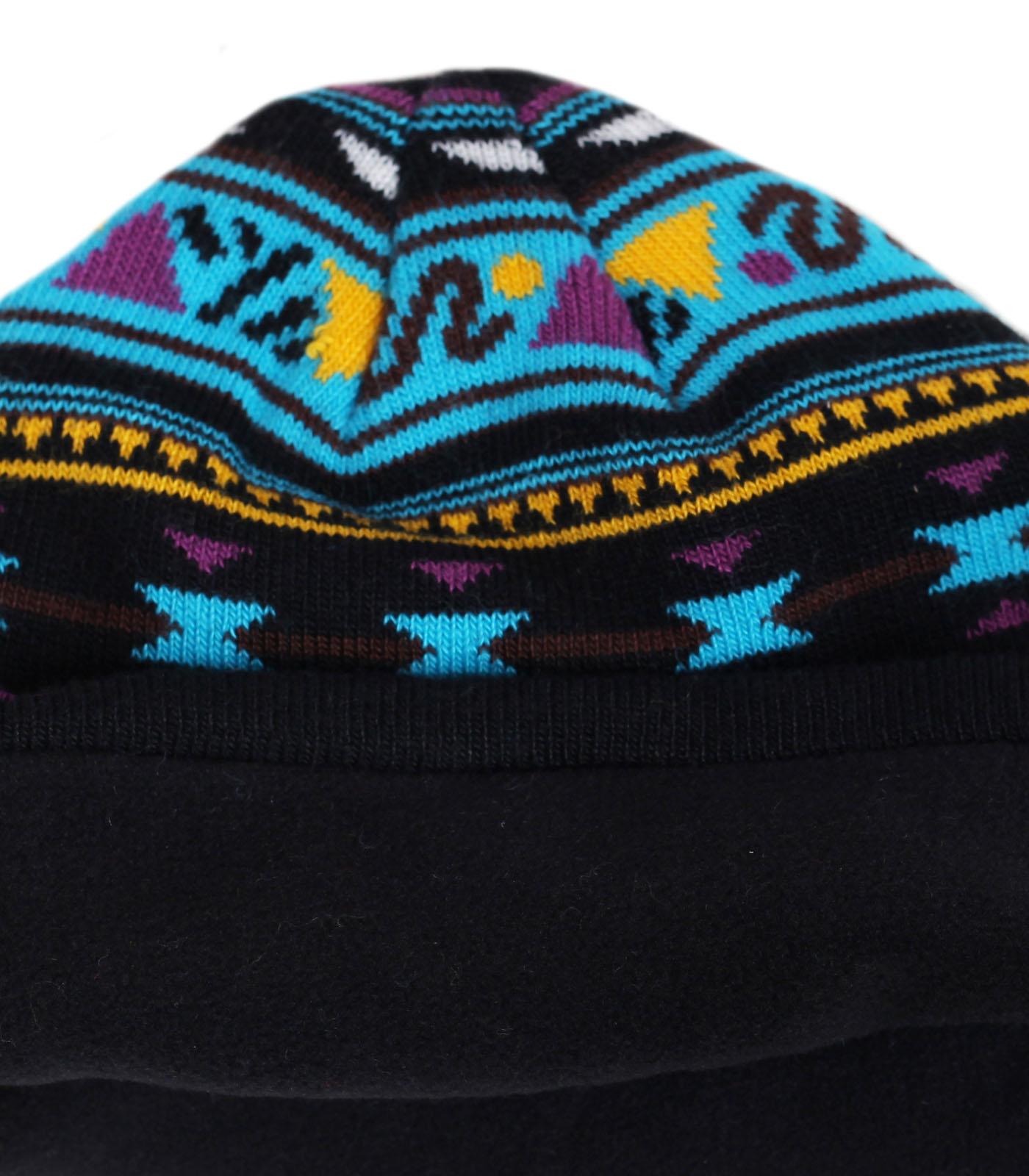 Купить зимнюю жаккардовую шапку бини бренда Neff отличный выбор в гардероб ценителю стиля по лучшей цене