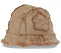 Зимняя женская шапка на меху