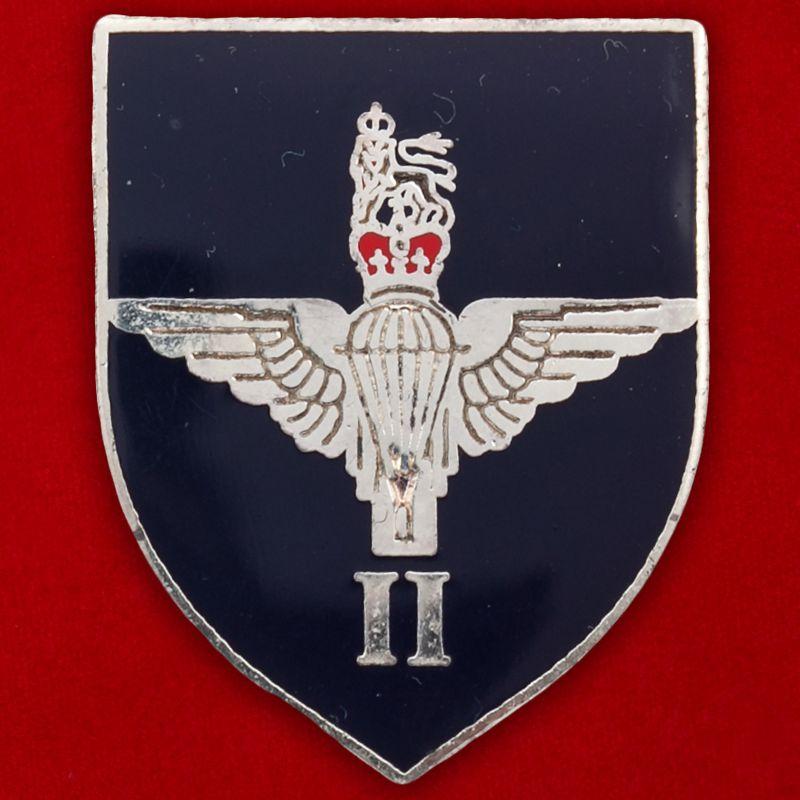 Значок 2-го батальона парашютного полка 16-й десантно-штурмовой бригады армии Великобритании