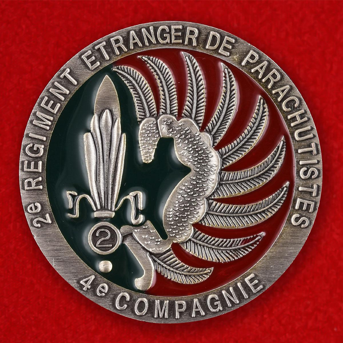 Подарочный значок ветеранам 2-го полка Французского Легиона