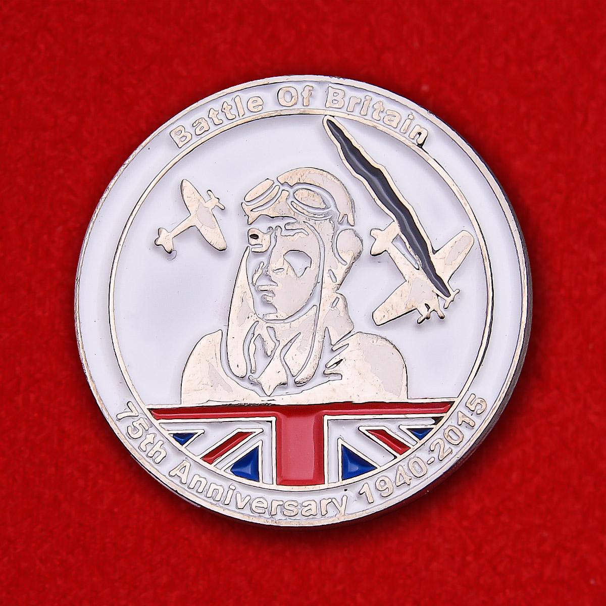 """Значок """"75-я годовщина Битвы за Британию"""""""