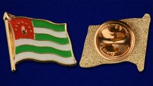 """Значок """"Абхазия"""" - аверс и реверс"""