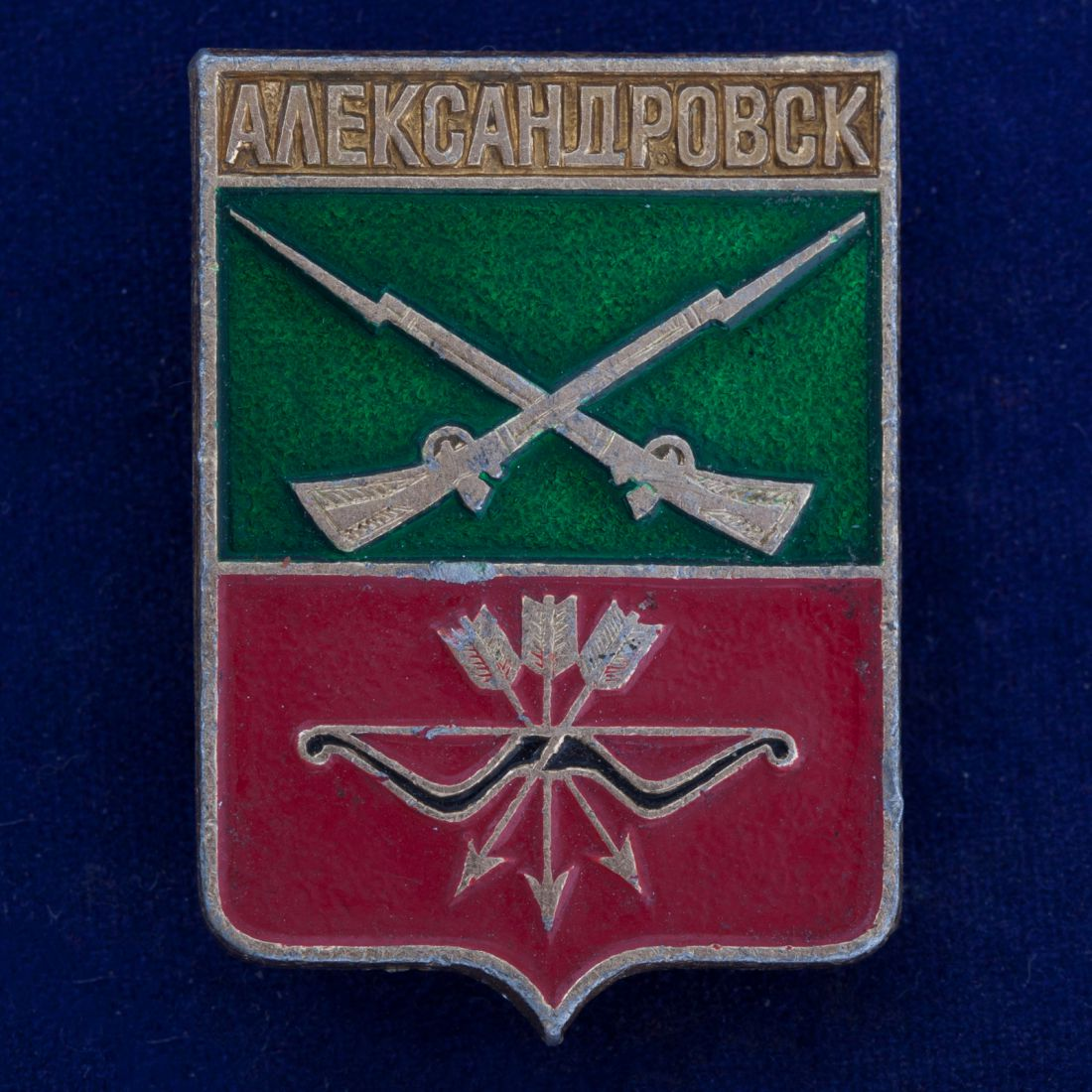 "Значок ""Александровск"""