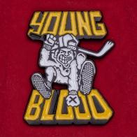 Значок альтернативного инди-лейбла Young Blood Records
