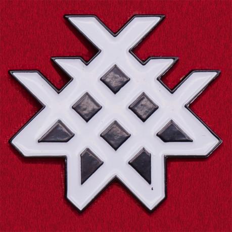 Значок американской металкор-группы Wage War