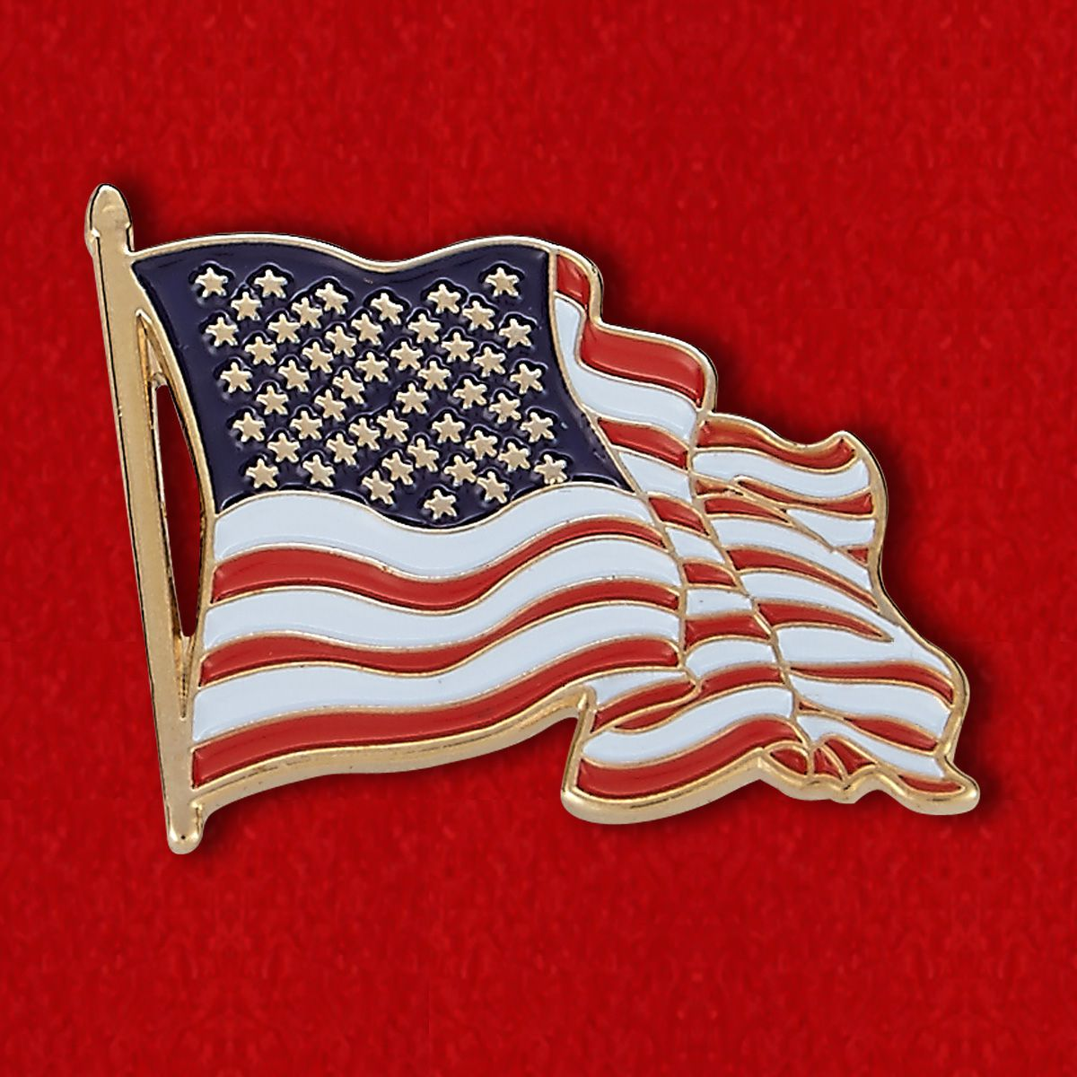 "Значок ""Американский флаг"""