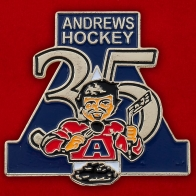 "Значок ""Andrews Hockey"""