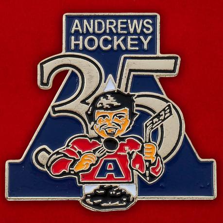 """Значок """"Andrews Hockey"""""""