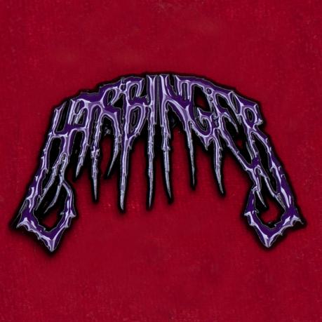 Значок английской deathcore-группы Harbinger