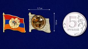 """Значок """"Армянский флаг"""" с доставкой"""