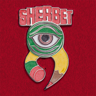 Значок австралийской рок-группы Sherbet