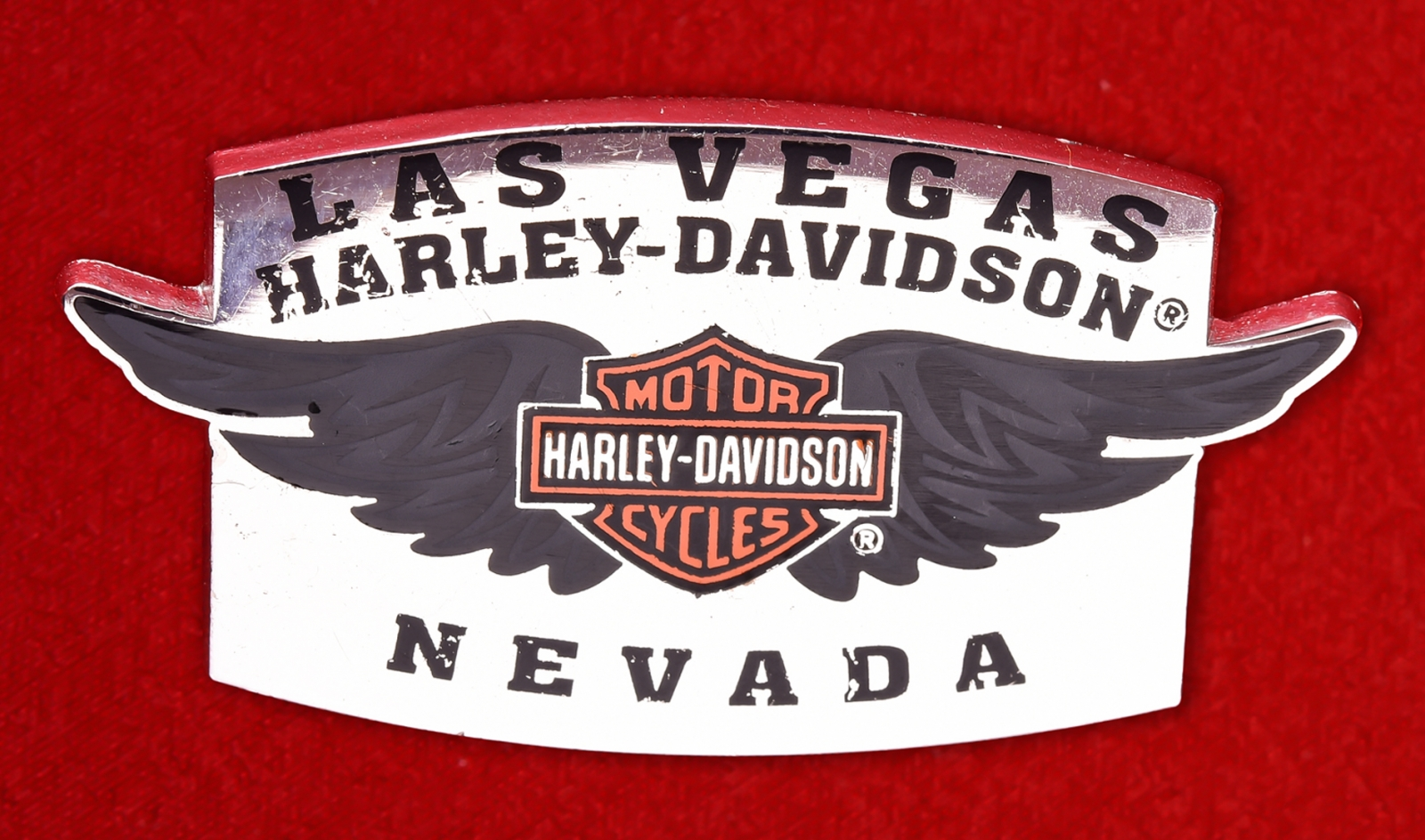 """Значок байкеров Лас-Вегаса """"Харлей-Дэвидсон"""""""