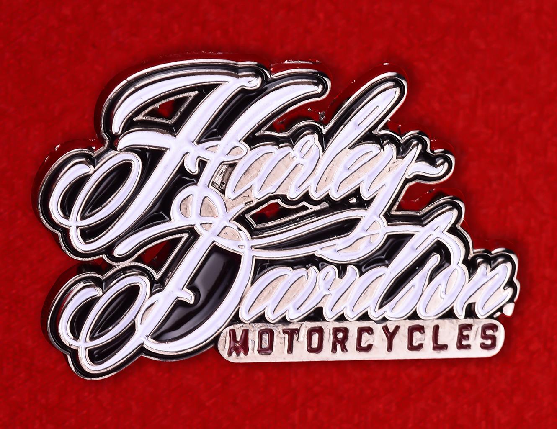 """Значок байкеров """"Мотоцикл Харлей-Дэвидсон"""""""