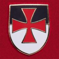 """Значок """"Боевое знамя Ордена тамплиеров"""""""
