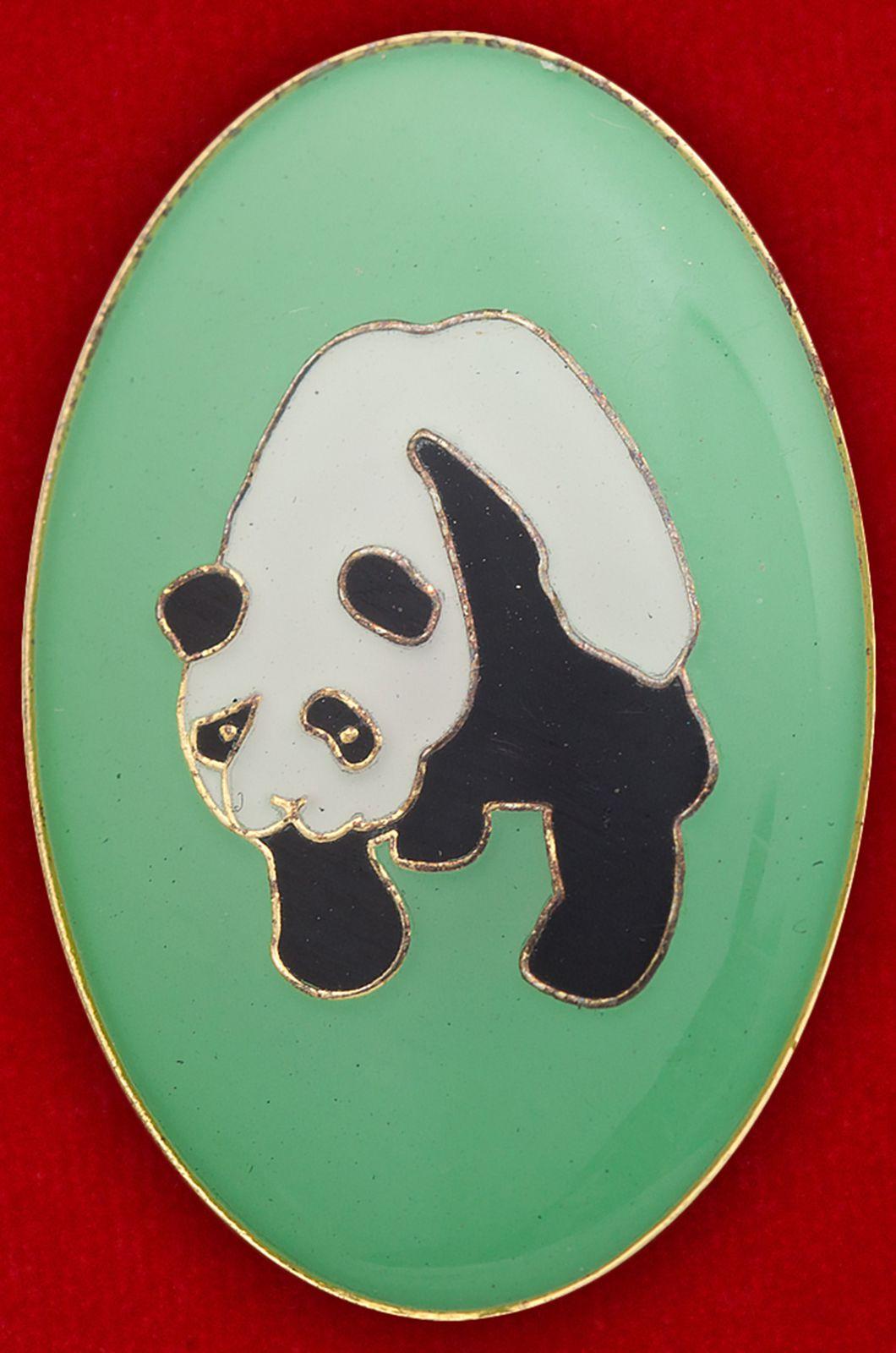"""Значок """"Большая панда"""""""