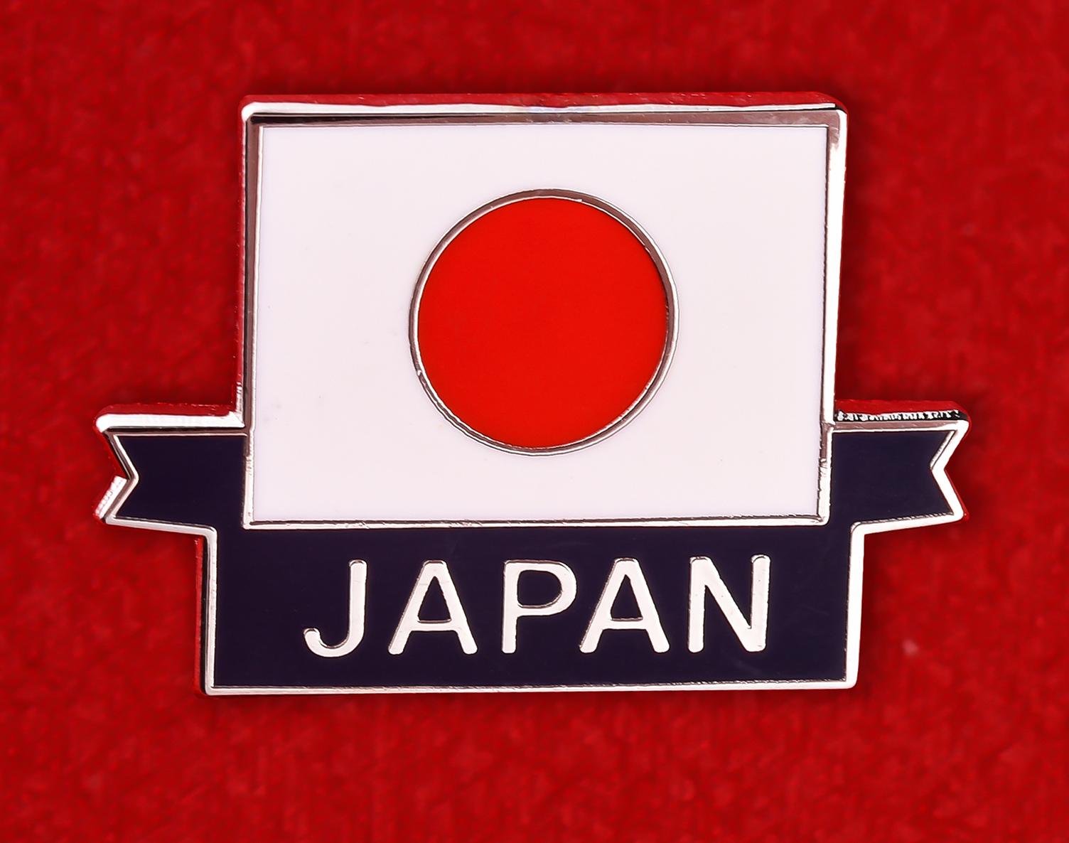 Значок в подарок японцу
