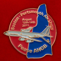 "Значок ""Boston Portsmouth Air Show"""