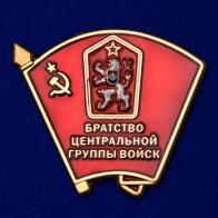 """Значок """"Братство Центральной группы войск"""""""
