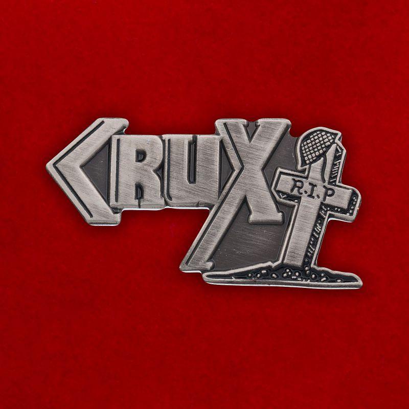 """Значок британских панков """"Crux"""""""